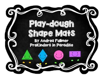 Play-dough Shape Mats