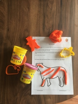 Play dough for Learning Art Skills