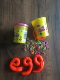 Play dough for Learning Literacy
