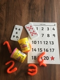 Play dough for Learning Numeracy