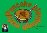 Play-dough mats for Pancake Day