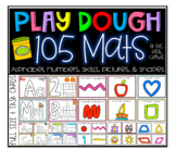 Play dough mats galore- ABC, 123, shapes, skills and pictu
