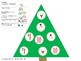 Play dough ornament game: winter matching, fine motor and memory