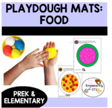 Play dough mats for food! UNIQUE hand skills, fine motor