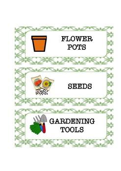 Play garden labels