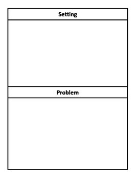 Play or Story Graphic Organizer for Primary