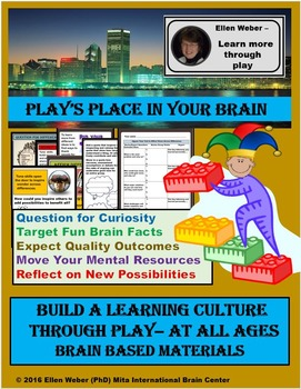 ! Play's Place in Learning - Brain Based Games, Tips, and Fun  for All Ages