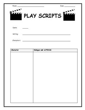 Play scripts Unit Plan & Resources (Stimulus: JOBS)