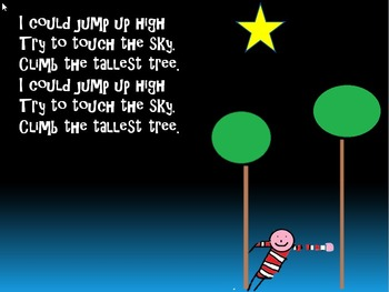 Play,sing write and draw using this song inspired by  How to catch a star video