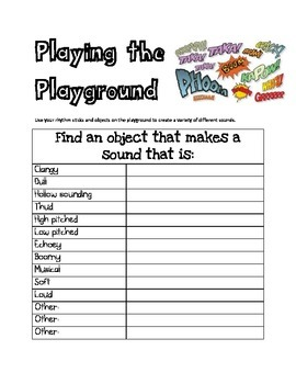 Play the Playground