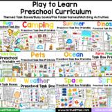 Play to Learn Preschool Themed Curriculum - Growing Bundle