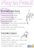 Play to Paper - Fine Motor Skills
