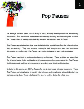 Play vs. Pause: Interactive Learning & Critical Thinking Activities