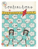 Play with Contractions Poster