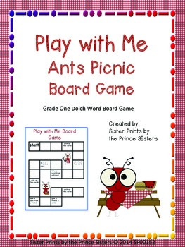 Play with Me Ants Picnic
