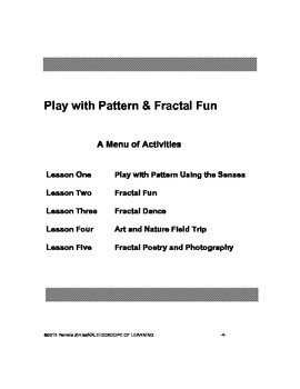 Play with Pattern and Fractal Fun