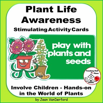 PLANT ACTIVITIES TASK CARDS | SCIENCE FAIR | Grow  Plants and Seeds | Hands-on