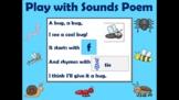 Play with Sounds Poem:  Hug a Bug