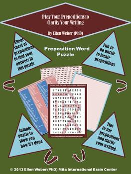 Play your Prepositions to Clarify your Writing