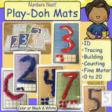 PlayDoh Mats 0-20: Numbers Next! series
