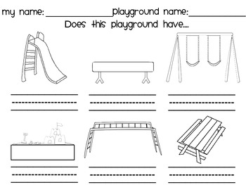 PlayGround Scavenger Hunt