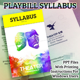 Playbill Syllabus for Theater Class