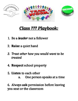 Playbook instead of Rules