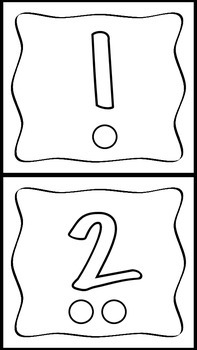 Playdo Number Mats