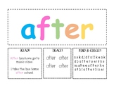 Playdoh Activity Mats: First Grade Level I Set!