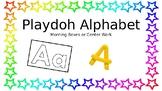 Playdoh Alphabet Letter Cards