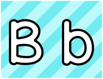 Playdoh Alphabet Mats