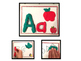 Playdoh Alphabet Mats from A-Z