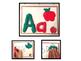 Playdoh Alphabet Mats from A-Z