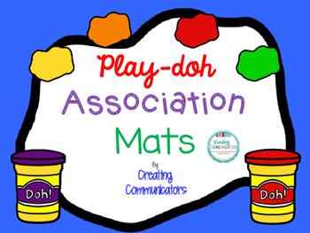 Play-doh Association Mats