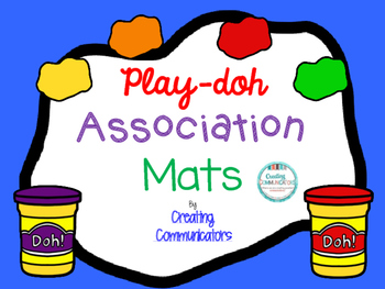 Play-doh Association Mats