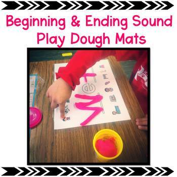 Playdoh Beginning and Ending Sounds