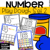 Play Dough Number Mats (1-20)