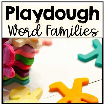 Playdoh Word Family Mats