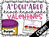 Playdoh Knock Knock Valentines