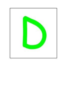 Playdoh Letter Mats