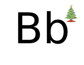 Playdoh Letter Mats, Christmas Themed