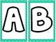Playdoh Letter Mats {freebie}