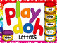 Playdoh Letters BUNDLE **Uppercase, Lowercase, AND Numbers**