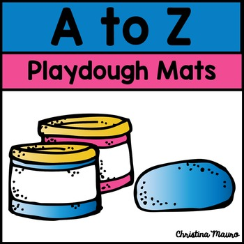 Playdough Mats A to Z