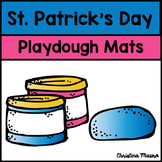 Playdough Mats - Addition {St. Patrick's Day}