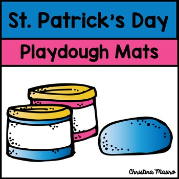 Playdough Mats - Addition {St. Patrick's Day}