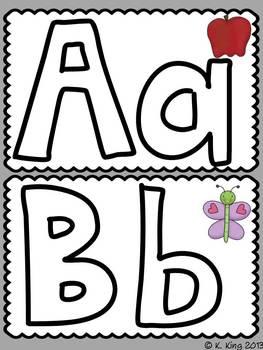 Playdoh Mats Bundled - Alphabet, Sight Word, Color Words