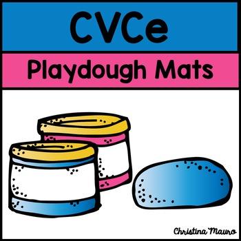 Playdough Mats - CVCe Words