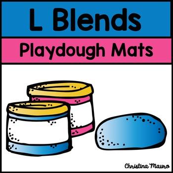 Playdough Mats - L Blends