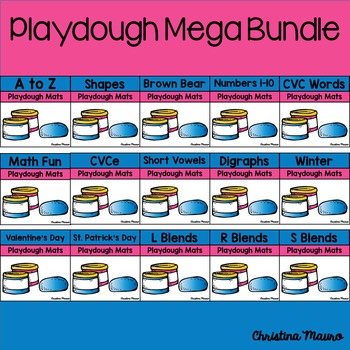 Playdoh Mats {Mega Bundle}
